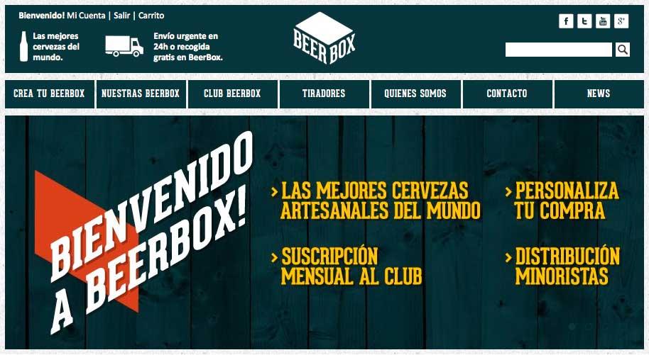Lanzamos BeerBox.es #irodes.com